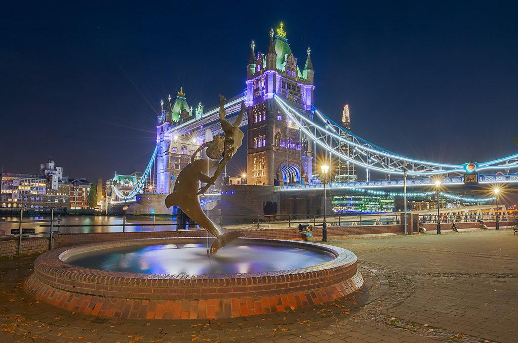 Dolphin in London