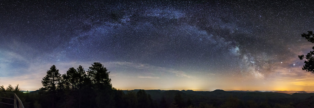 Milky Way over Palatine Forest