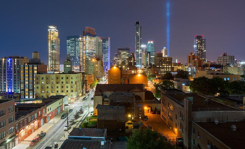 The new Queens Skyline