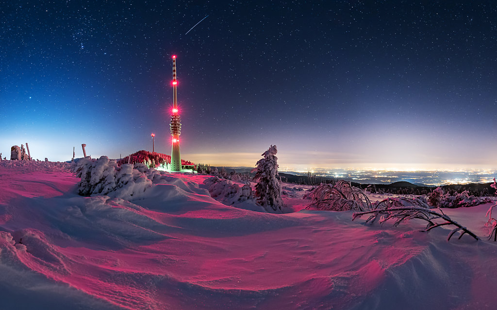 Purpel Snow