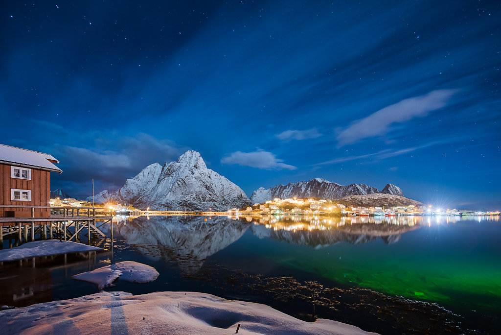 Late Autumn in Reine